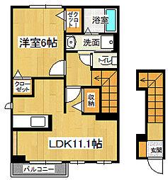 向日葵 II[2階]の間取り