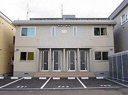 北海道札幌市白石区栄通9丁目の賃貸アパートの外観