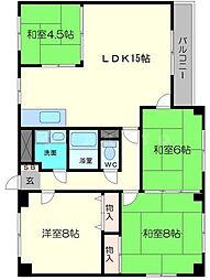 MMビレッジ[4階]の間取り