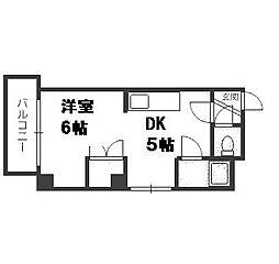 北海道札幌市豊平区平岸四条5丁目の賃貸マンションの間取り