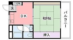 曙コーポ[203号室]の間取り