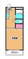東京都武蔵野市八幡町3丁目の賃貸アパートの間取り