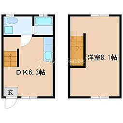 JR久大本線 久留米駅 徒歩37分の賃貸アパート