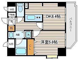 神奈川県横浜市西区中央2の賃貸マンションの間取り