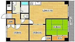 第3吉川ビル[302号室]の間取り