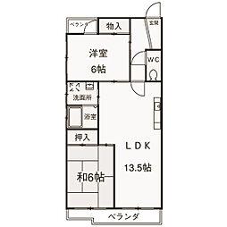 ココ—片桐[3階]の外観