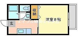 カフェテリアワケ[1階]の間取り