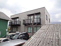 コーポナカジマE棟[2階]の外観