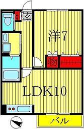 Lierre[104号室]の間取り