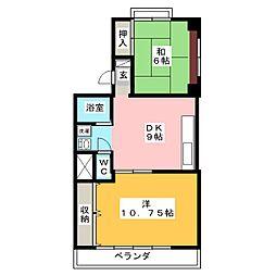 KOMA HOUSE[1階]の間取り