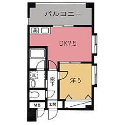 ウィルファースト[4階]の間取り