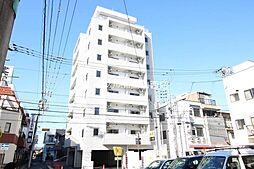 岡山県岡山市北区駅元町の賃貸マンションの外観