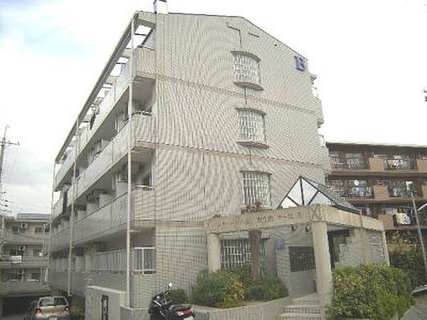 シティパレス東生駒P-3 B[3階]の外観