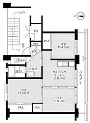 VH石生-II[5階]の間取り