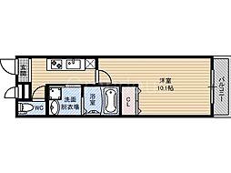 フジパレス横堤3番館[1階]の間取り
