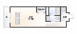 studio apartment WK[901号室]の間取り