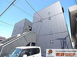 千葉県千葉市中央区稲荷町3丁目の賃貸アパートの外観