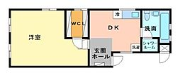 藤ヴァレイⅡ[3階]の間取り