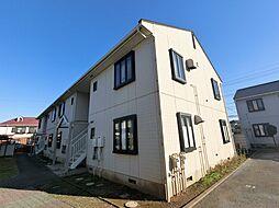 千葉県四街道市美しが丘3丁目の賃貸アパートの外観