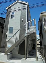 神奈川県横浜市鶴見区生麦5の賃貸アパートの外観