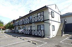 長野県長野市広田の賃貸アパートの外観