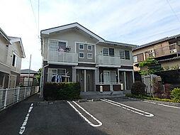 愛媛県松山市東野5丁目の賃貸アパートの外観