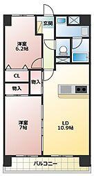 ベル・ステージ岩崎台[7階]の間取り