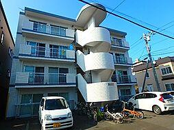 北海道札幌市東区北三十七条東12丁目の賃貸マンションの外観