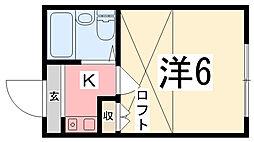 メゾン・ド・KY西飾磨[103号室]の間取り