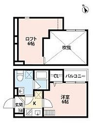 J西明石[1階]の間取り
