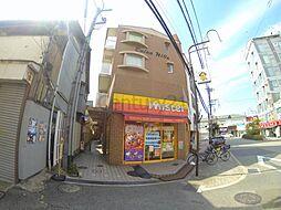 大阪府池田市石橋1丁目の賃貸マンションの外観