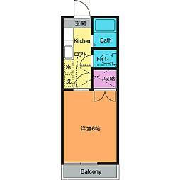 ハウス・マルベリー[1階]の間取り