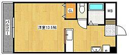 ピュアハウス[2階]の間取り