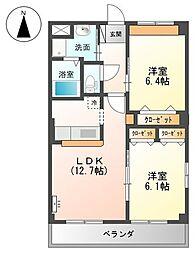 メゾン HOMA[2階]の間取り