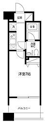 レジディア島津山[7階]の間取り