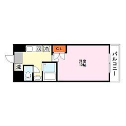 都市ガスRacoonD3〜ラクーンディースリー〜[1階]の間取り