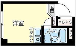 神奈川県川崎市川崎区大師駅前1丁目の賃貸マンションの間取り