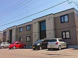北海道札幌市東区北二十五条東20丁目の賃貸アパートの外観