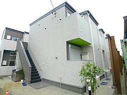 千葉県松戸市南花島3の賃貸アパートの外観