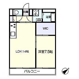 千草台谷本マンション[308号室号室]の間取り