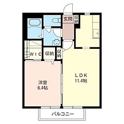 Casa・Lau[1階]の間取り