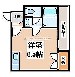 アーバンSライフ A棟[4階]の間取り