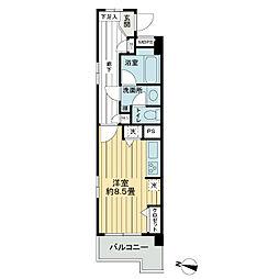 ライオンズマンション高砂第5[4階]の間取り