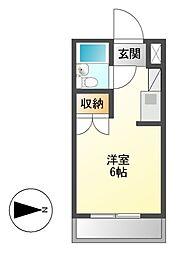 メゾン・ド・ソヌール[2階]の間取り