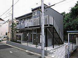 神奈川県横浜市緑区寺山町の賃貸アパートの外観