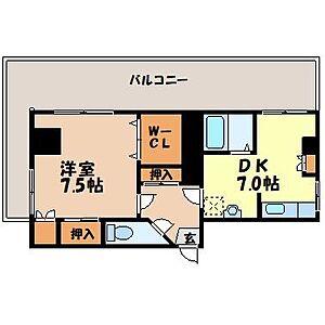 間取り,1DK,面積40m2,賃料4.5万円,,,長崎県長崎市住吉町5-1