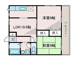 AIKAWAマンション[3階]の間取り
