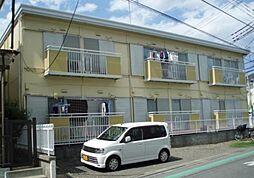 神奈川県大和市中央林間西4丁目の賃貸アパートの外観