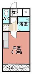 タプローコート[301号室]の間取り