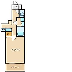 エアリーアベニュー[3階]の間取り